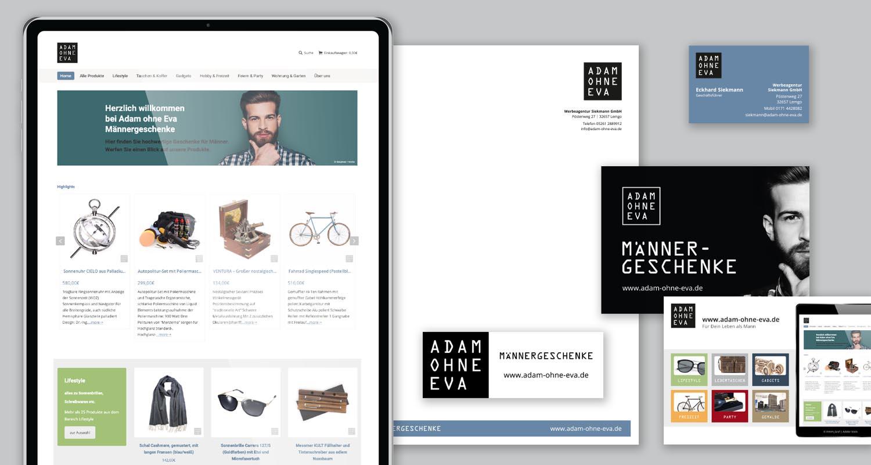 Corporate Design | Adam ohne Eva | Werbeagentur Siekmann
