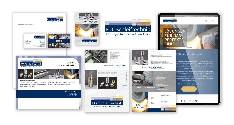 Corporate Design | F.O. Schleiftechnik | Werbeagentur Siekmann