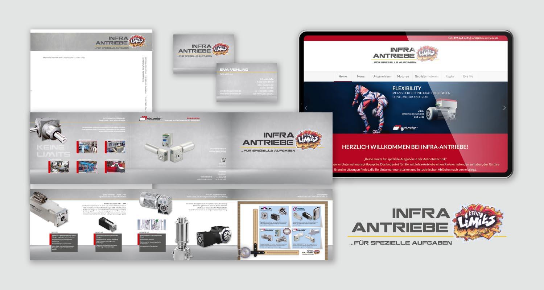 Corporate Design | Infra-Antriebe | Werbeagentur Siekmann