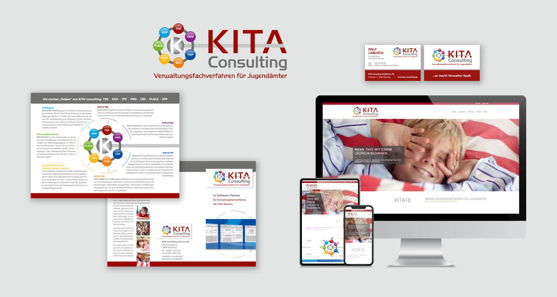 Corporate Design | KITA Consulting | Werbeagentur Siekmann
