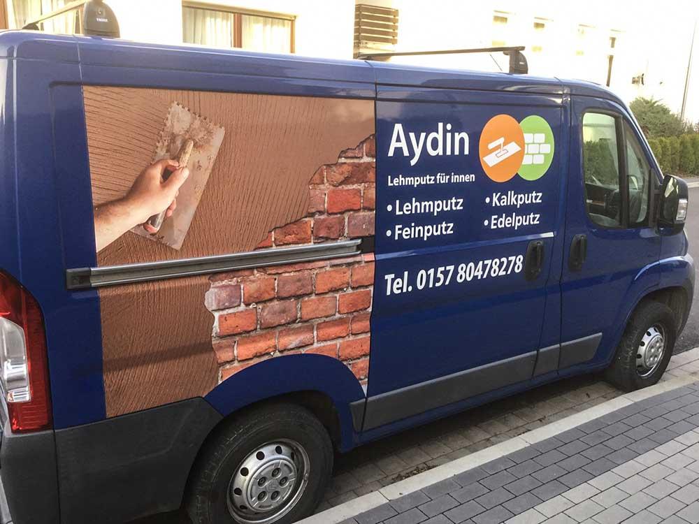 Fahrzeugbeschriftung | Aydin | Werbeagentur Siekmann