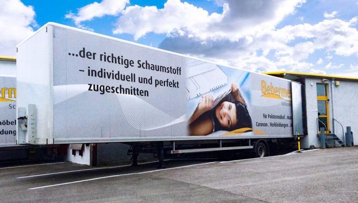 Fahrzeugbeschriftung | Bebermeier | Werbeagentur Siekmann
