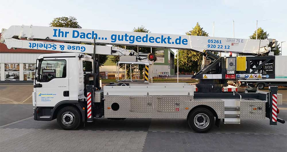 Fahrzeugbeschriftung | Guse & Scheidt | Werbeagentur Siekmann