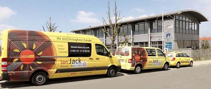 Fahrzeugbeschriftung | Ian Jack | Werbeagentur Siekmann