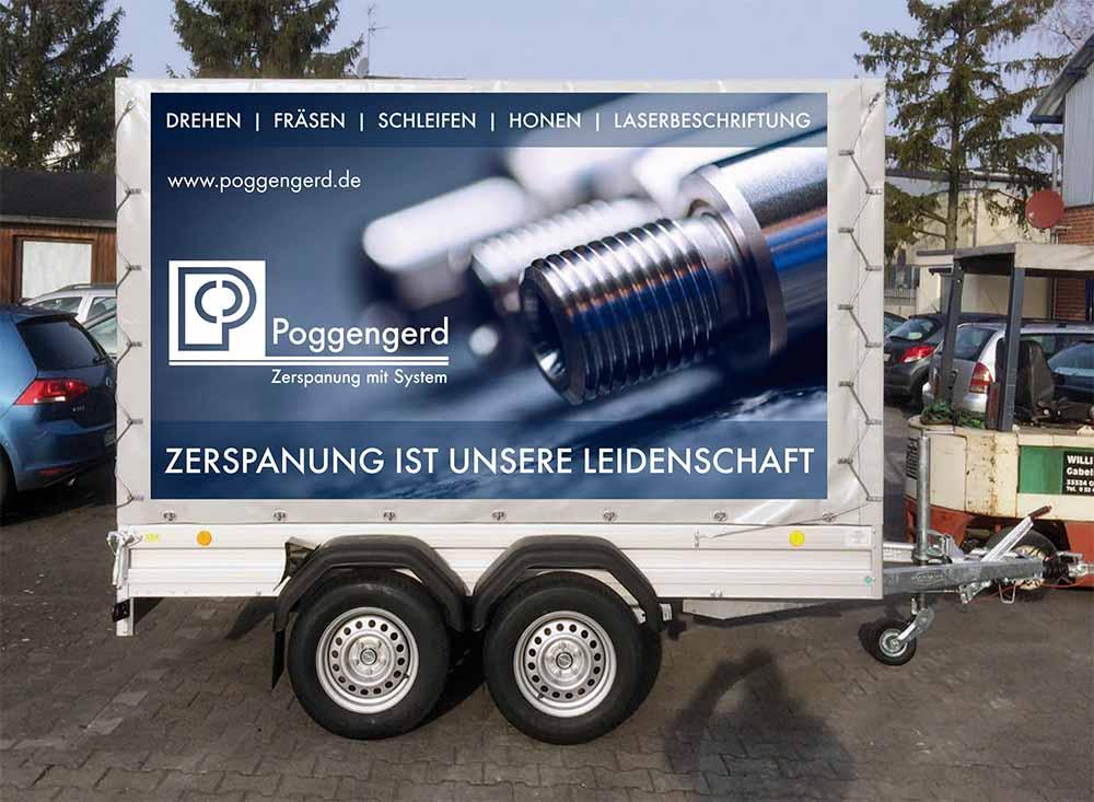 Fahrzeugbeschriftung | Poggengerd | Werbeagentur Siekmann