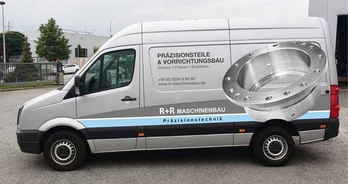 Fahrzeugbeschriftung | R+R | Werbeagentur Siekmann