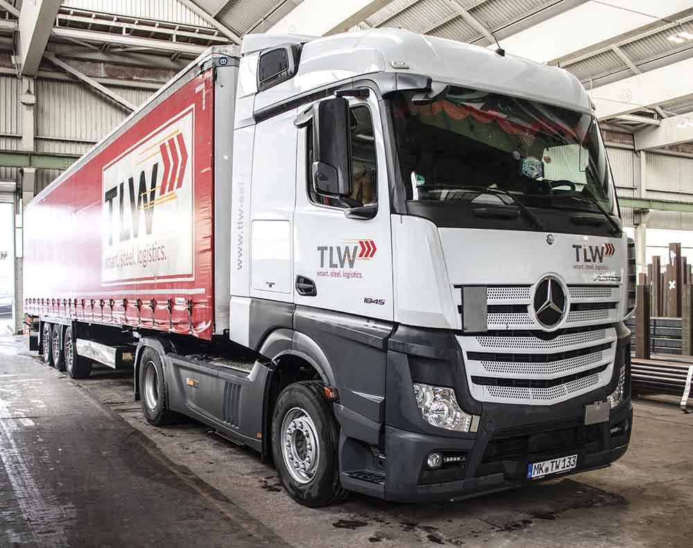 Fahrzeugbeschriftung | TLW | Werbeagentur Siekmann