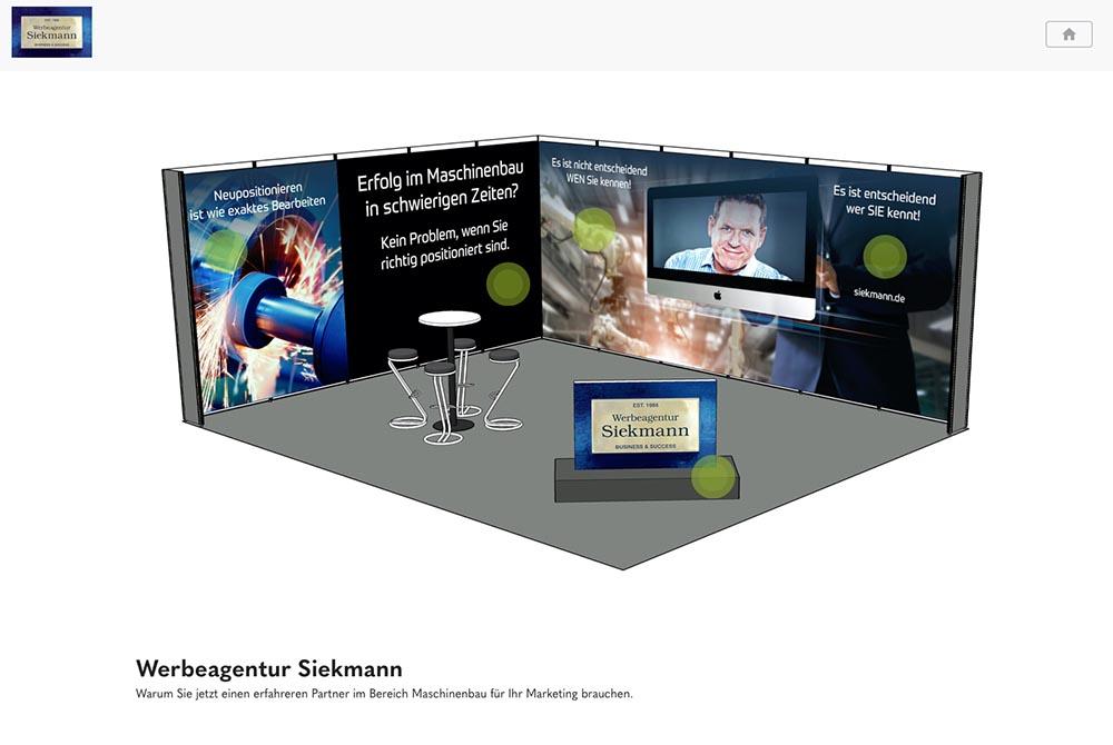 Messe digital | Siekmann | Werbeagentur Siekmann