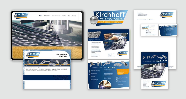 Neupositionierung   Kirchhoff   Werbeagentur Siekmann