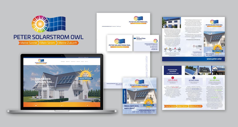 Neupositionierung   Peter Solarstrom OWL   Werbeagentur Siekmann