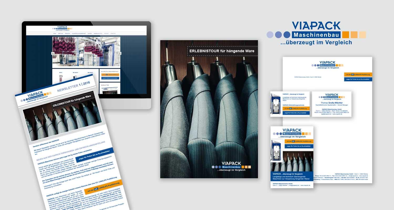 Neupositionierung   Viapack   Werbeagentur Siekmann
