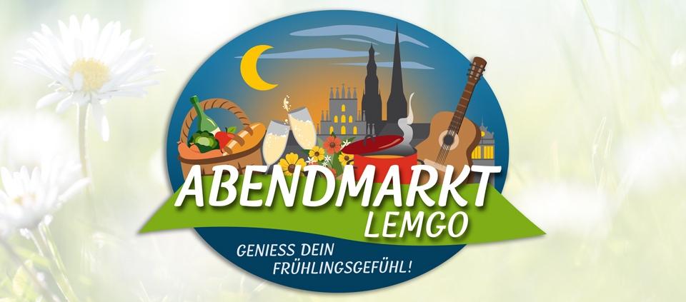 News | Abendmarkt Lemgo Logo | Werbeagentur Siekmann