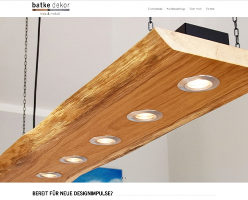 News | batke dekor Website | Werbeagentur Siekmann
