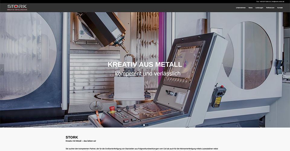 News | Stork Website | Werbeagentur Siekmann