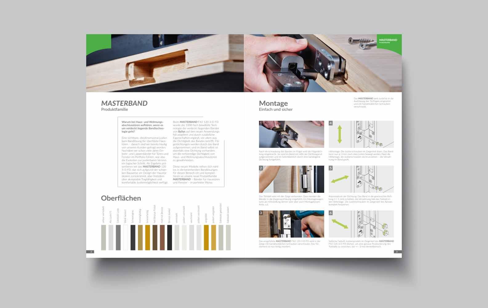 Print | BaSys - Bartels Systembeschläge | Werbeagentur Siekmann