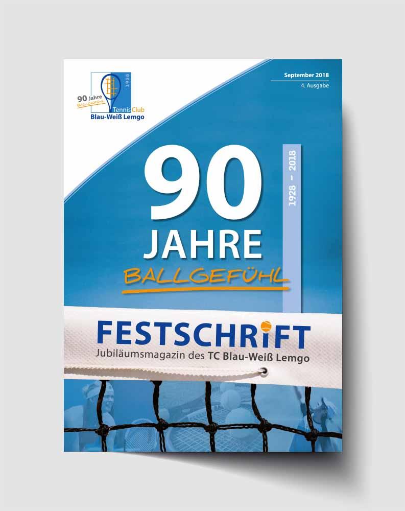 Print | Festschrift | TC BW Lemgo | Werbeagentur Siekmann