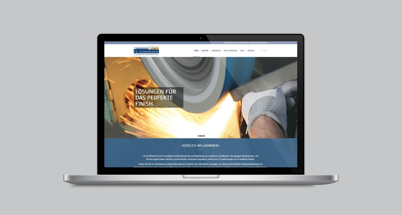 Web | F.O. Schleiftechnik | Werbeagentur Siekmann