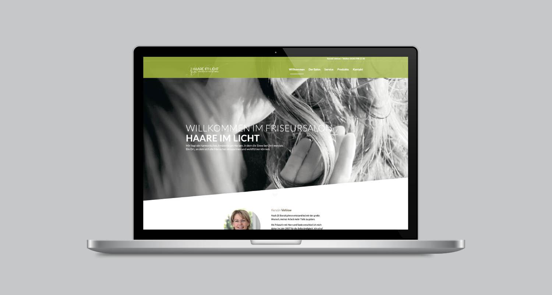 Web | Friseur Vehlow | Werbeagentur Siekmann