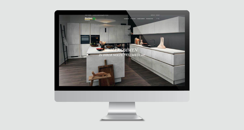 Web | Küchen Erlebnis Lemgo | Werbeagentur Siekmann