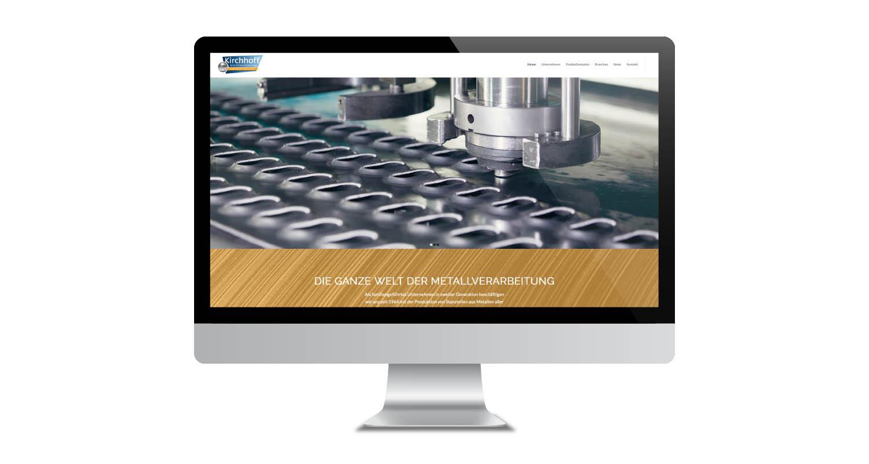 Web | Kirchhoff Metallverarbeitung | Werbeagentur Siekmann