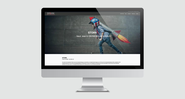 Web | Stork Kreative Metalltechnik | Werbeagentur Siekmann