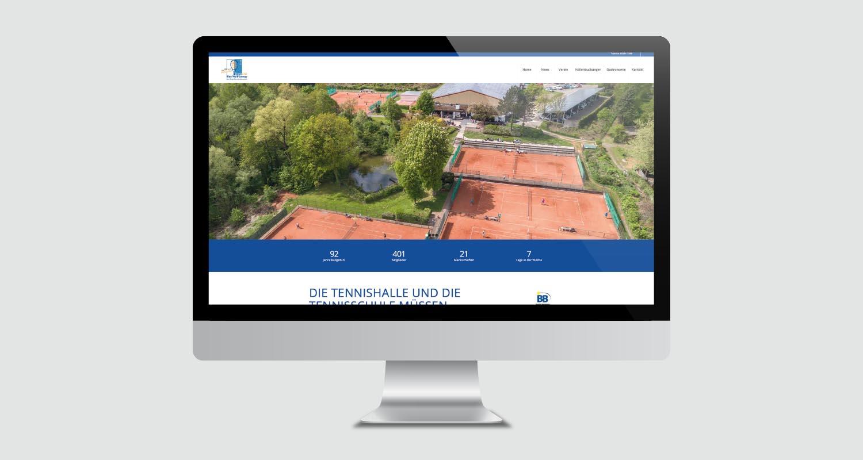 Web | TC BW Lemgo | Werbeagentur Siekmann