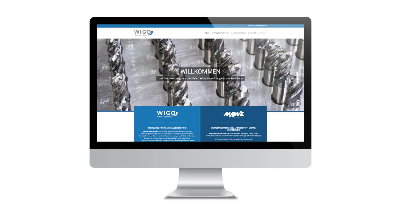 Web | WIGO Werkzeugtechnik | Werbeagentur Siekmann