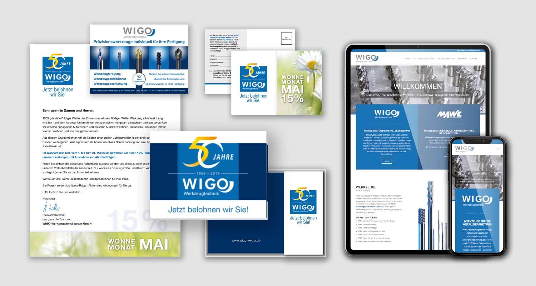 Corporate Design | WIGO Werkzeugtechnik | Werbeagentur Siekmann