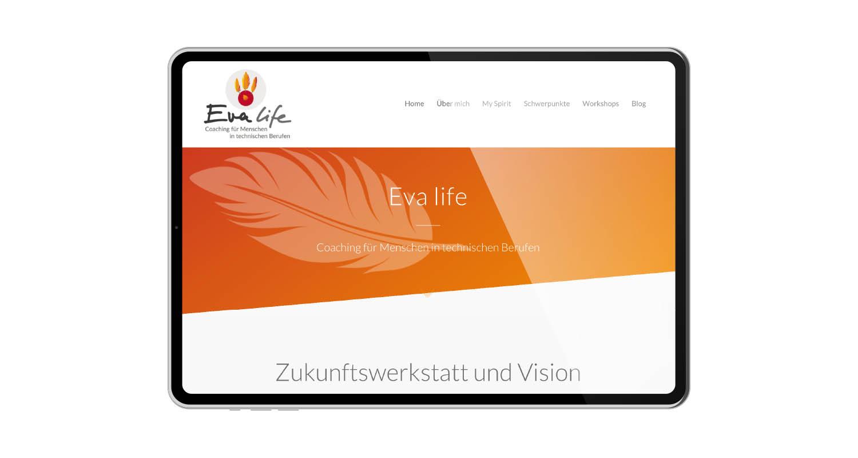 Web | Eva life | Werbeagentur Siekmann