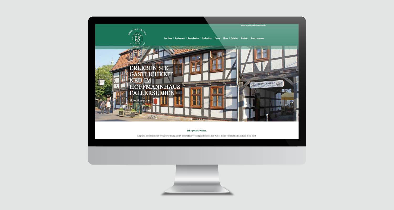Web | Hoffmannhaus Fallersleben | Werbeagentur Siekmann