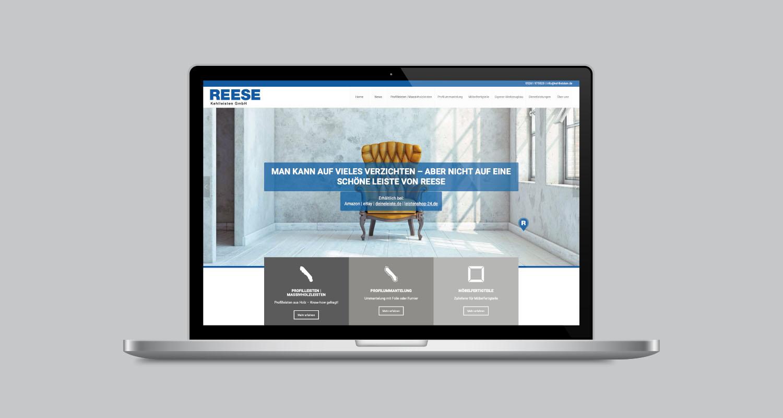Web | Reese Kehlleisten | Werbeagentur Siekmann